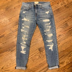 Current Elliot ripped jeans